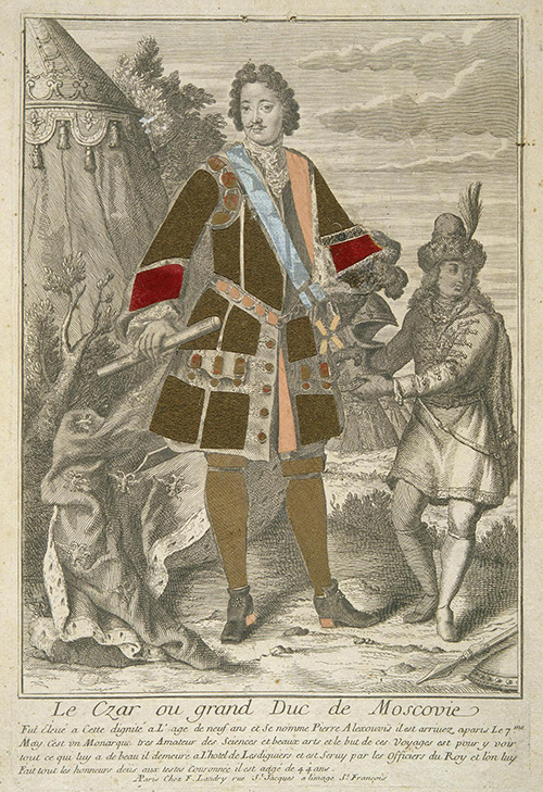 Петр I. 1717 год Государственный Эрмитаж