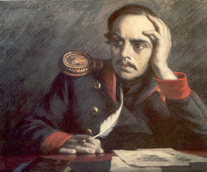 общие знакомые пушкина и лермонтова