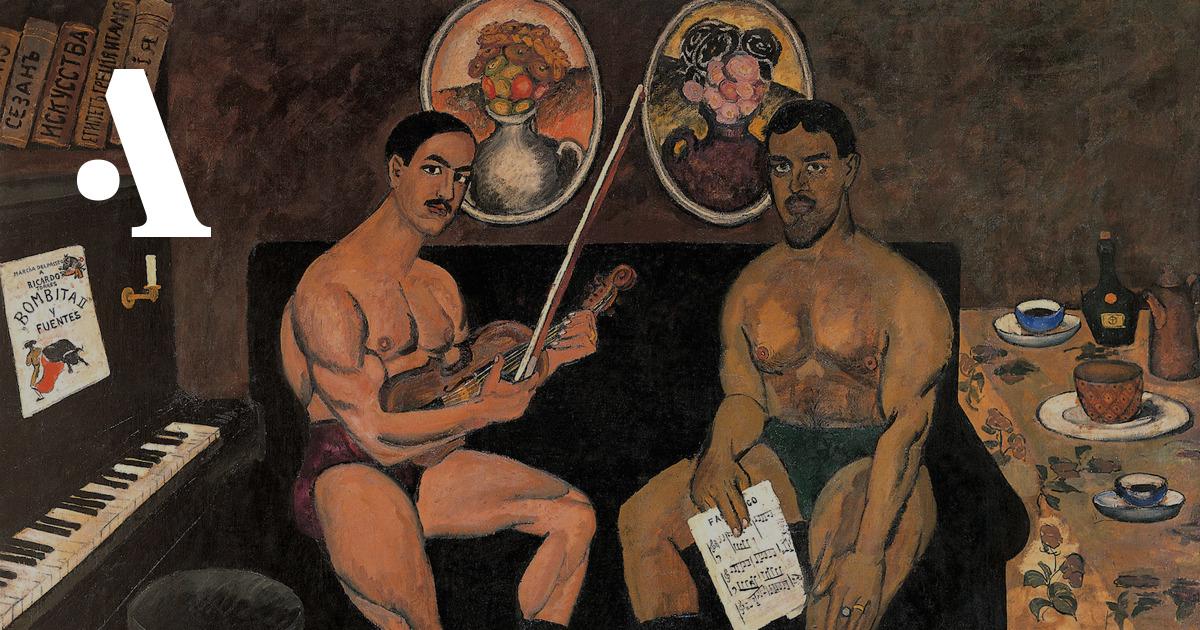 Картинки группа художников бубновый валет