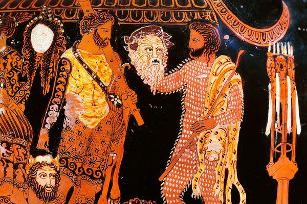 Древнегреческое слово означающее наказание