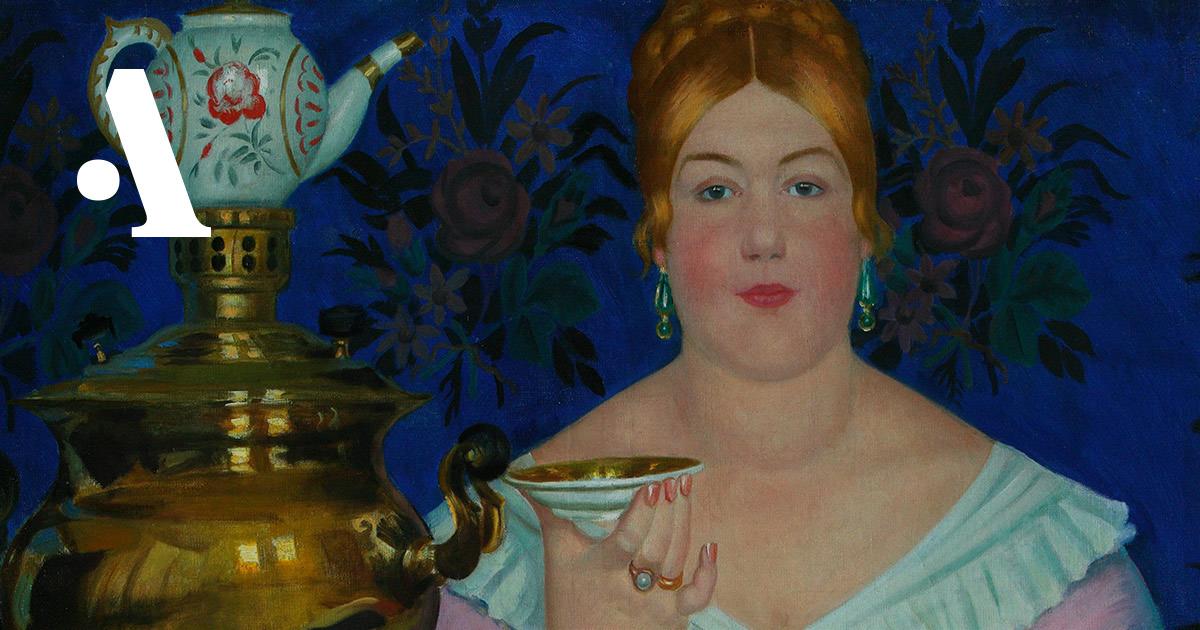 Краткая история чая вРоссии  •  История русской еды
