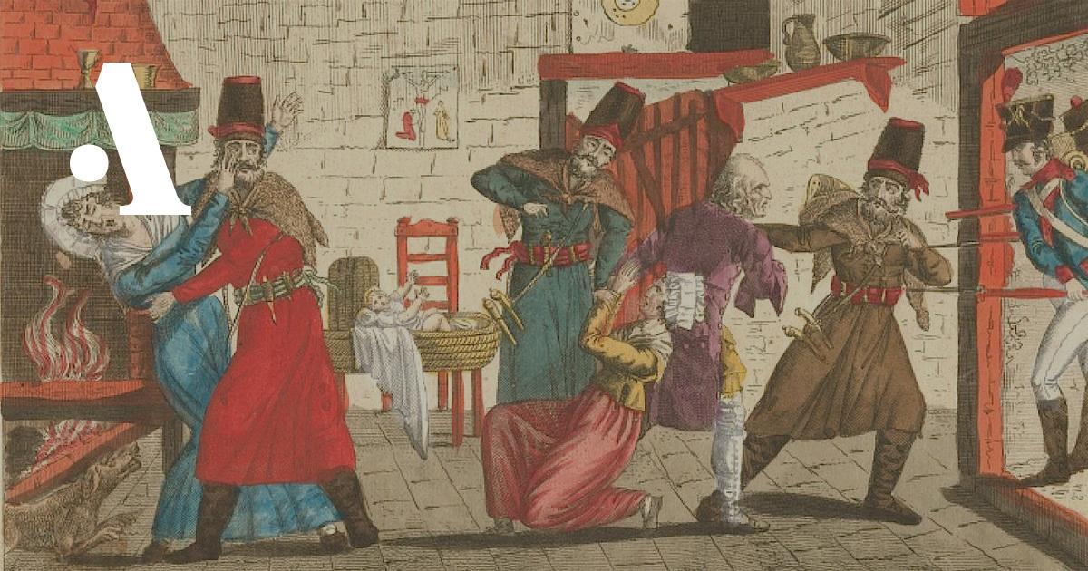 Что французы думали о казаках
