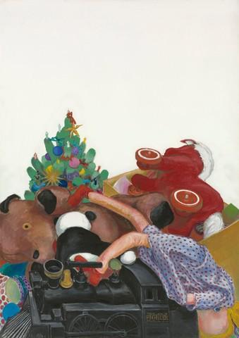 Криста Дихганс. Рождество — Нью-Йорк. 1967 год