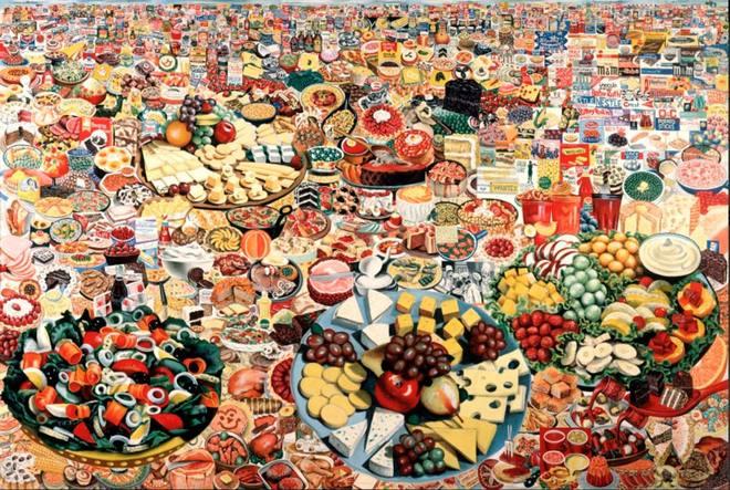 Эрро. Продовольственный пейзаж. 1964 год