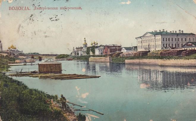 Дмитриевская набережная. Вологда, 1906–1910 годы© PastVu.com2