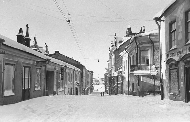 Крепостная улица. Выборг, 1940 год© PastVu.com2