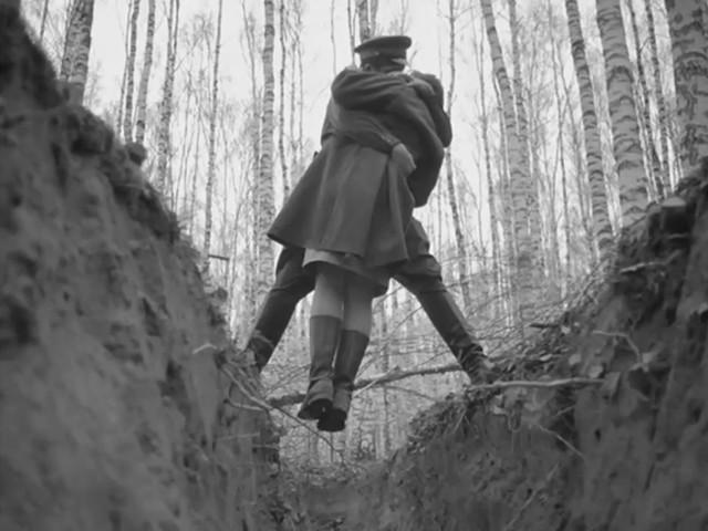 Кадр из фильма «Иваново детство». Режиссер Андрей Тарковский. 1962 год