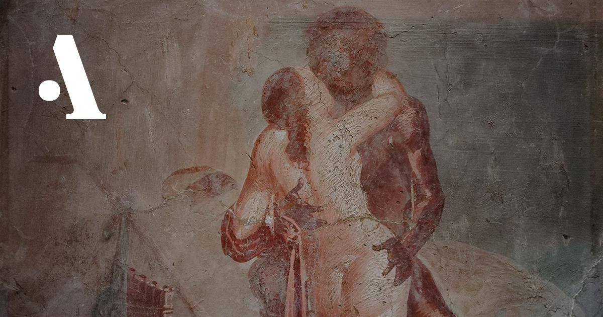 9 эротических фресок из Помпей  •  Журнал