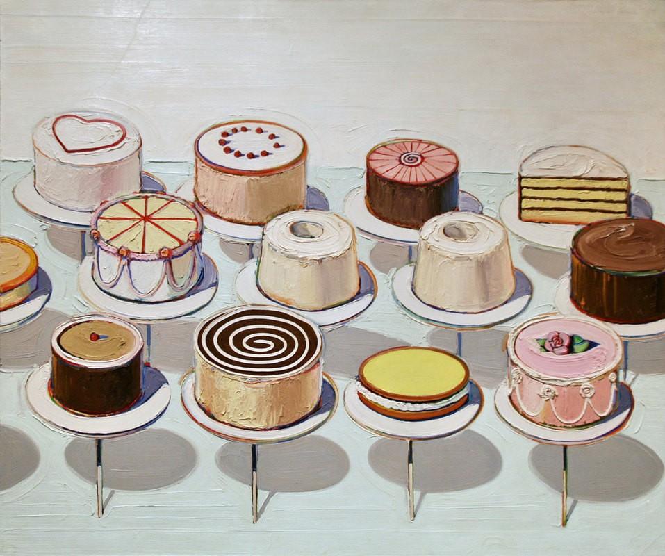 Уэйн Тибо. Торты. 1963 год