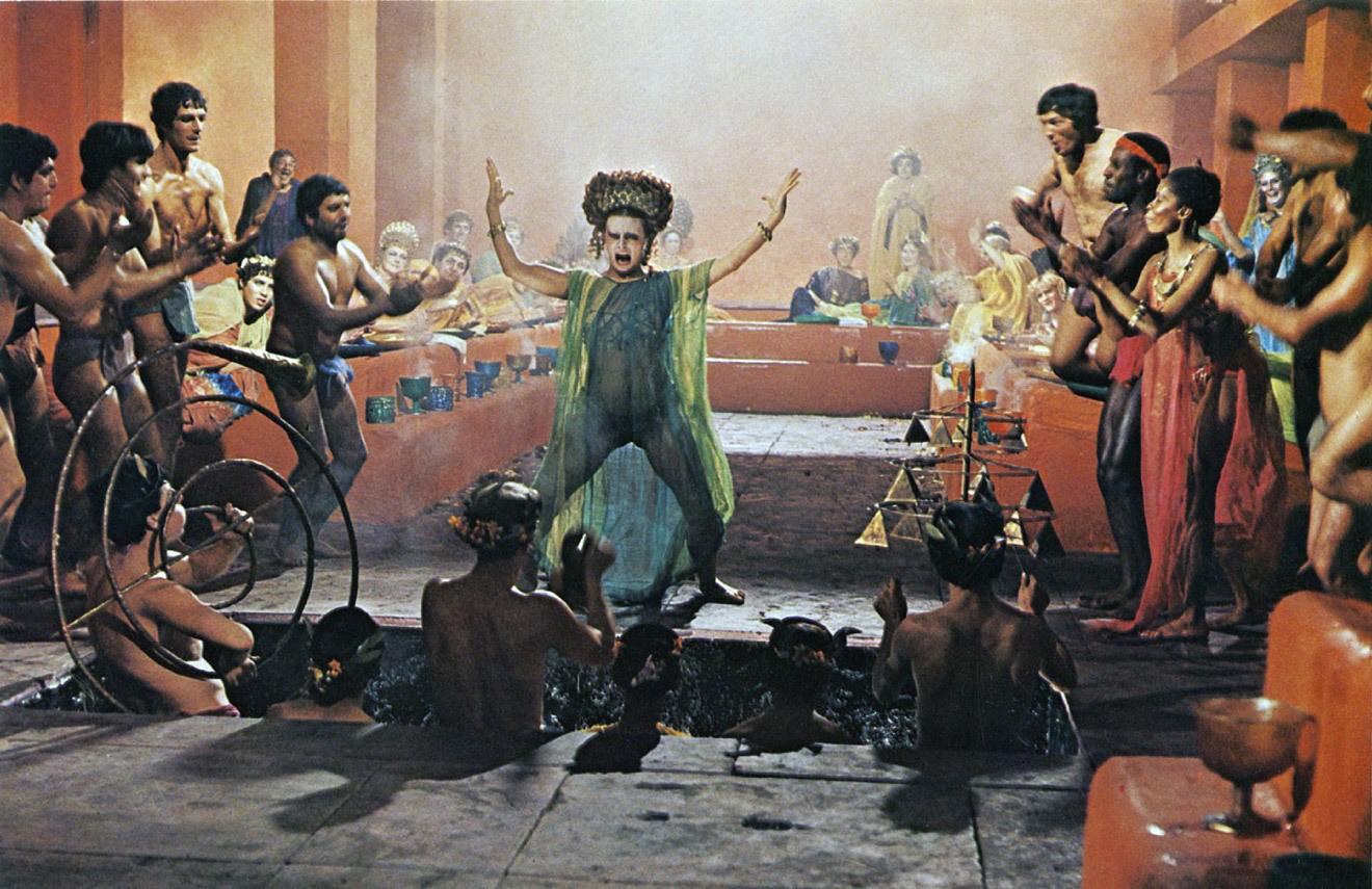 Кадр из фильма «Сатирикон Феллини»© Les Productions Artistes Associés; Produzioni Europee Associati (PEA)