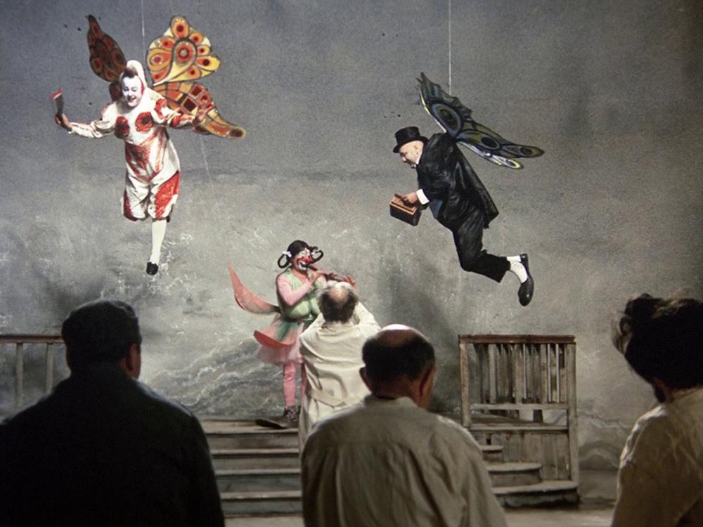 Кадр из фильма «Клоуны»© Bavaria Film; Compagnia Leone Cinematografica; Office de Radiodiffusion Télévision Française (ORTF); Radiotelevisione Italiana