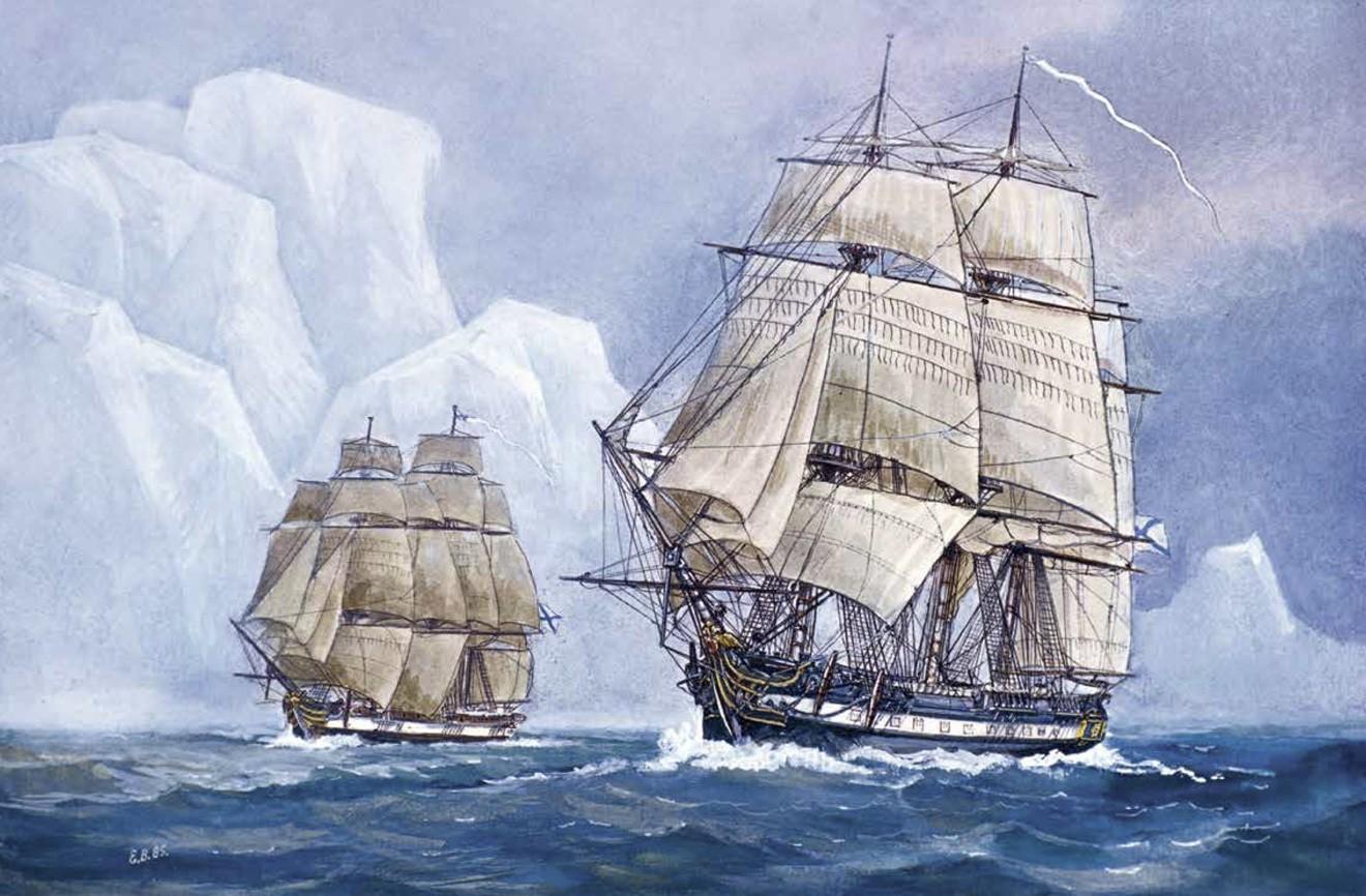 Открытие и исследование антарктиды