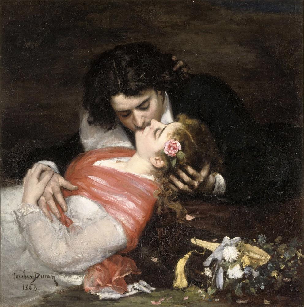 Поцелуй. Каролюс-Дюран. 1868 годPalais des Beaux-Arts de Lille