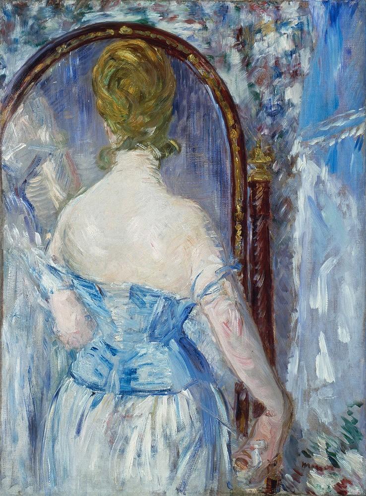 Перед зеркалом. Эдуард Мане. 1876 годSolomon R. Guggenheim Museum