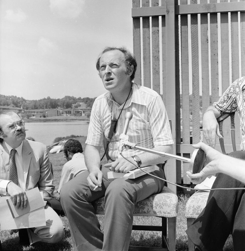 Иосиф Бродский в Мичиганском университете. 1972 год© The Ann Arbor News / Ann Arbor District Library