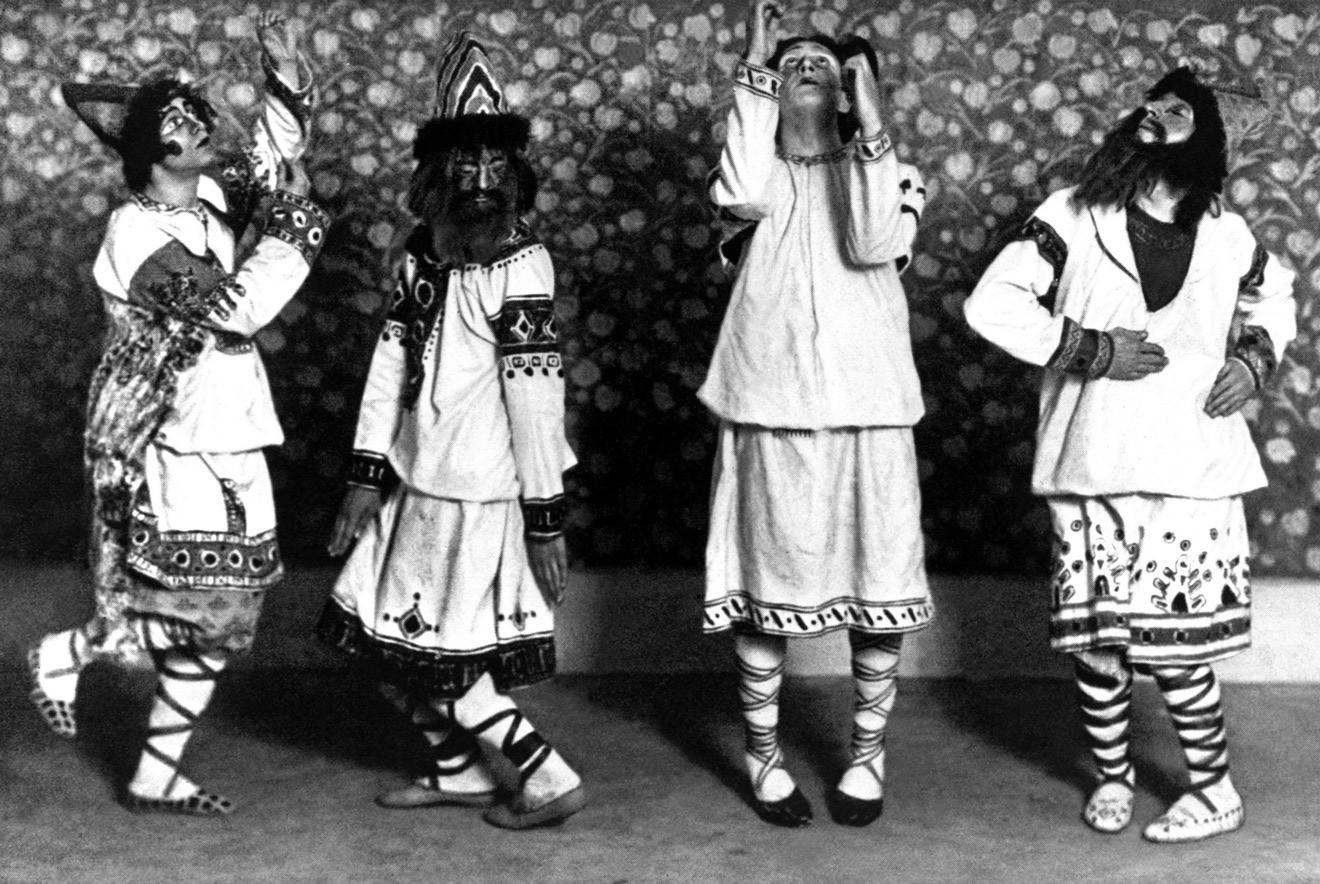 Премьера балета Игоря Стравинского «Весна священная» в Театре Елисейских Полей. 1913 год / British Library