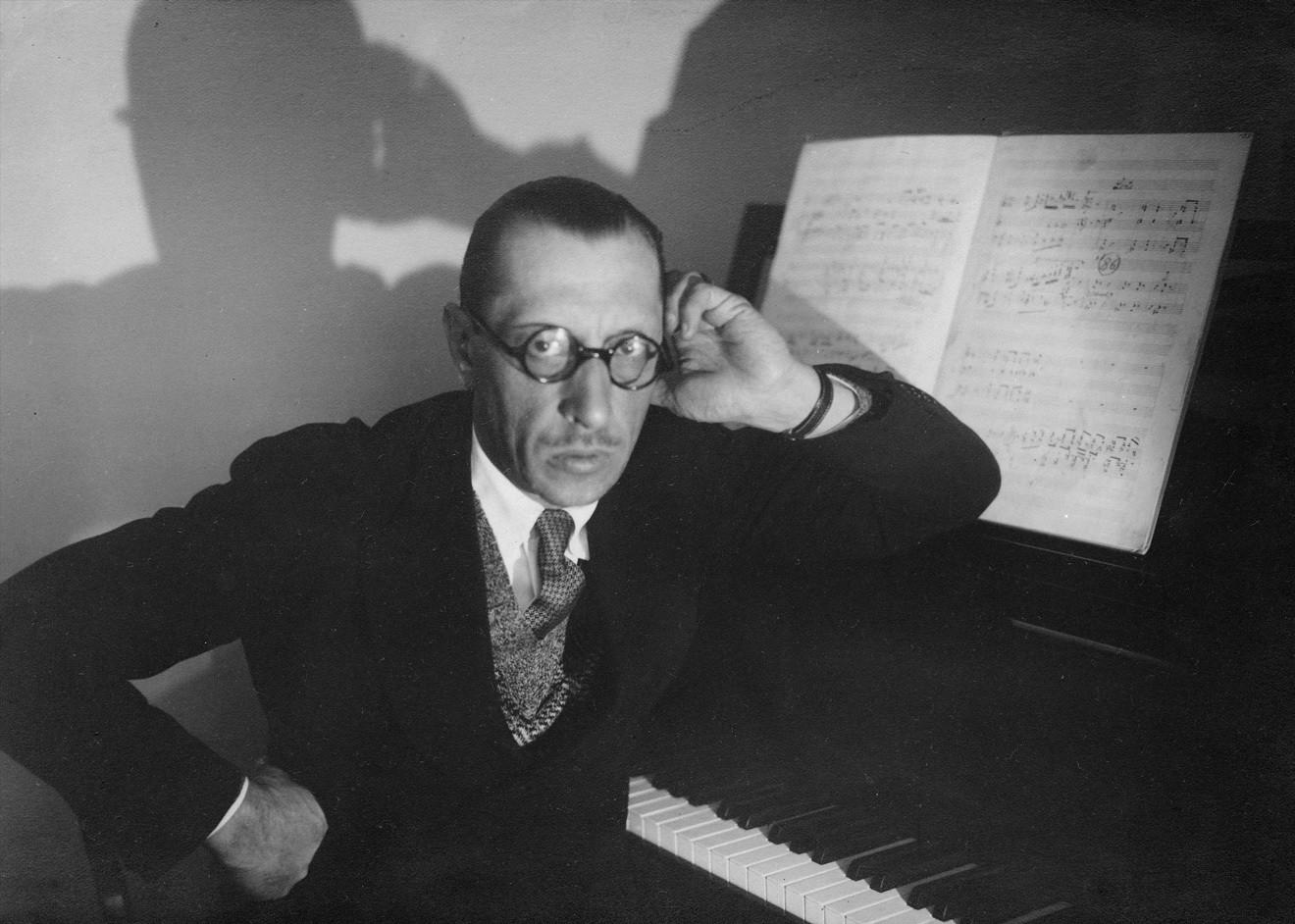 Игорь Стравинский за фортепиано. 1929 год / © Getty Images