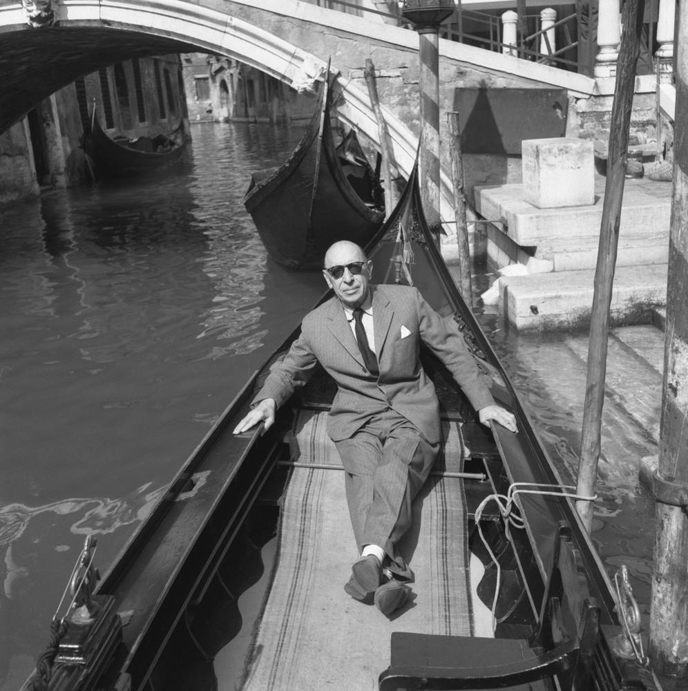 Игорь Стравинский в Венеции. 1951 год / © Getty Images