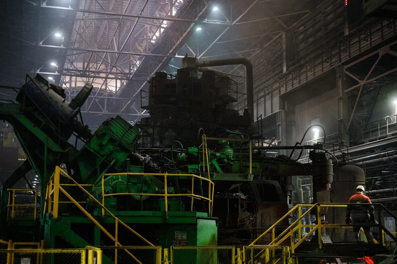 Металлургический завод в Выксе