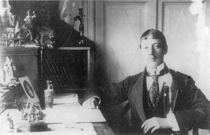 Николай Гумилев в Царском Селе. 1911 год© gumilev.ru