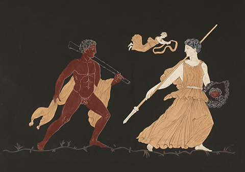 Акт ры на древнегреческих вазах
