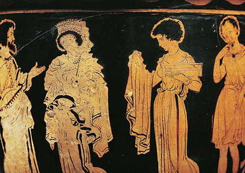 Написать древнегреческую трагедию