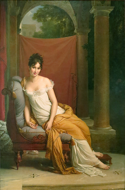 Портрет Мадам Рекамье. Картина Франсуа Жерара. 1805 годWikimedia Commons