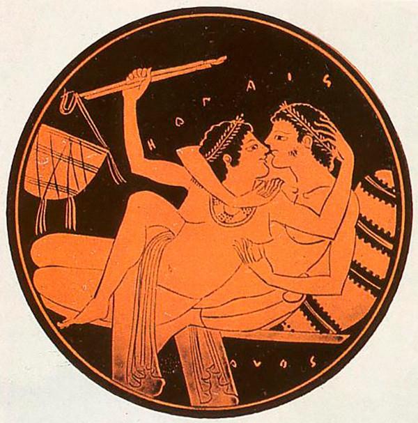 Женщины отказывают мужчинам в сексе в древней греции