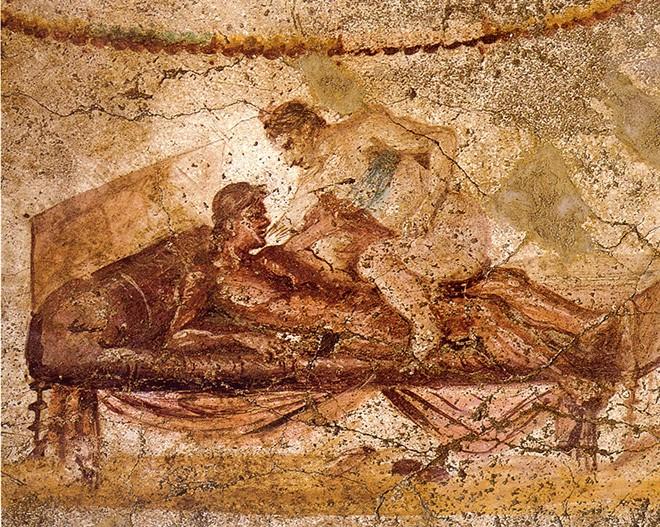 Особенности сексуальной жизни в древней греции