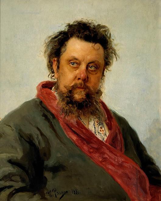 Ritratto di Modest Musorgskij di Il'ja Repin