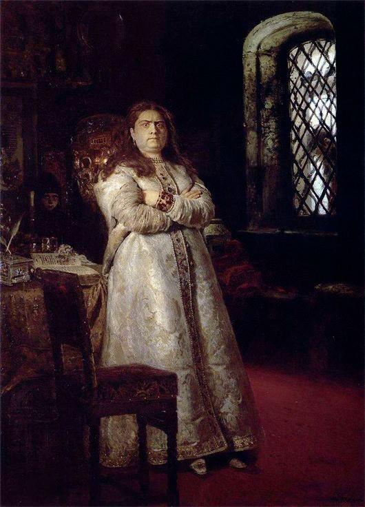 La zarina Sofia di Il'ja Repin