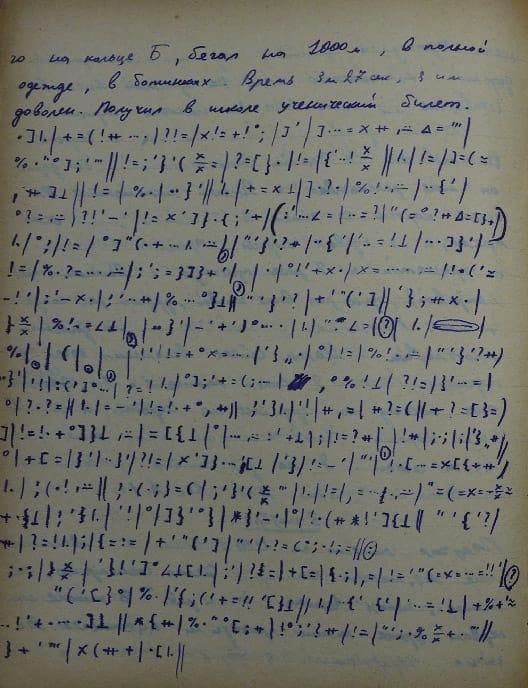 Дневник Олег Черневского