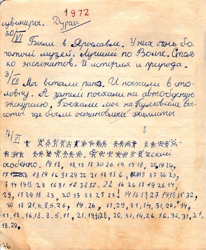 Дневник Сергея Скисова
