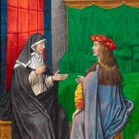 Средневековая литература: главные книги в одной таблице ...
